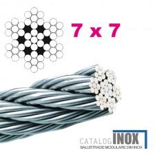 Cablu inox Ø5 mm A7905-200