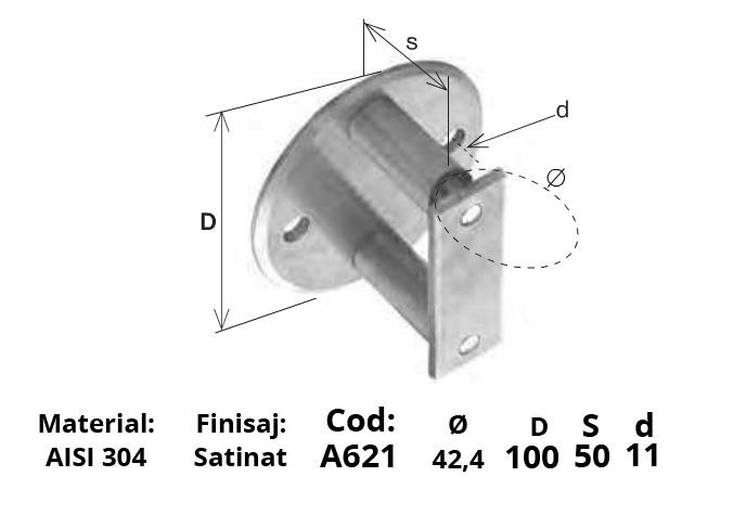 ancorare laterala A621